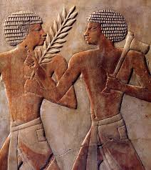 temple wall art depicting an egyptian expedition to the land of punt the land of