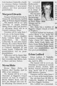 Myrna Hicks obit - Newspapers.com
