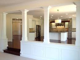 half wall with columns basement half walls and design columns ideas basement masters half wall ideas half wall