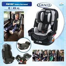 Graco 4Ever™ 4-in-1 Car Seat featuring Safety Surround™ Side Impact Protection - Tone My Lovely Baby l 4ever™ 4-In-1 Featuring