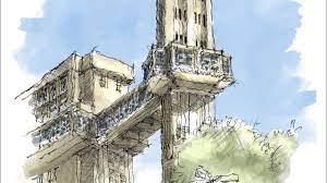 Time lapse sketch - Desenho de observação do Elevador Lacerda - YouTube