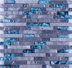 kitchen blue tiles texture. Blue Glass Stone Mosaic Wall Tiles Gray Marble Tile Kitchen Backsplash | Bravotti.com Texture I