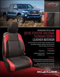 auto trim restyling 2016 toyota tacoma designer series leather interior