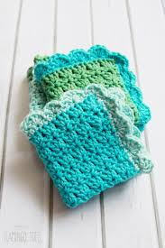 Easy Crochet Dishcloth Patterns Enchanting Easy Crochet Dish Cloth Pattern