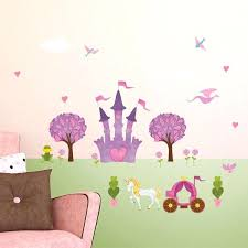 princess wall sticker l stick decals for mural with large castle uk m princess wall mural