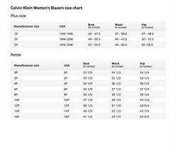 Calvin Klein Plus Size Chart Calvin Klein Womens Plus Size Lux Open Jacket At Amazon