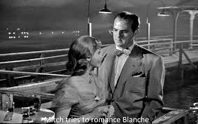norman holland on elia kazan <em>a streetcar d desire< em mitch tries to r ce blanche