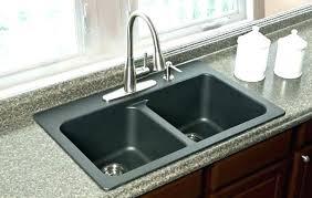 sink on granite astounding interior design top mount how to attach countertop
