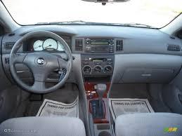 2004 Toyota Corolla LE Light Gray Dashboard Photo #40899669 ...