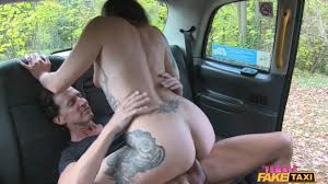 British Expat Has Outdoor Sex With Taxi Driver Fake Taxi XXX