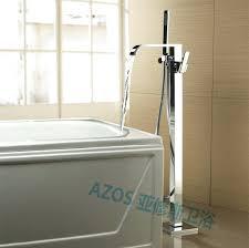 bathtubs bathtub waterfall faucet oil rubbed bronze see see