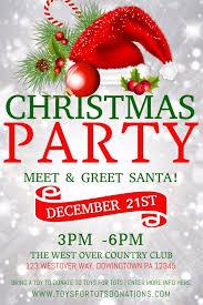 Christmas Design Template Christmas Party Poster Design Template Christmas Poster Templates