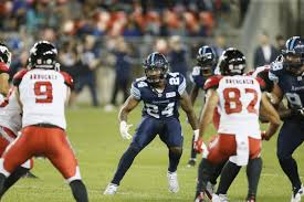 Depth Chart Week 16 At Calgary Toronto Argonauts