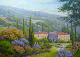 tuscan countryside 24 x 30 o c giving a whole new meaning to country i m not in loch sheldrake anymore