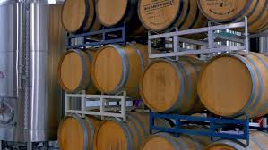 Storage oak wine barrels Wikipedia 4k Oak Wine Barrels Vintage Stock Footage Video 100 Royaltyfree 19466074 Shutterstock Kitchen Utensils 4k Oak Wine Barrels Vintage Stock Footage Video 100 Royaltyfree