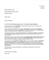 Sample Cover Letter For Change Of Career Career Change Cover Letters