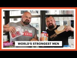 World S Strongest Man Diet Chart Everything The Worlds Strongest Men Eat In A Day Eat Like