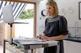 if you re in the market for a chic portable standing desk look no further than the zestdesk an adjule device that turns any table into a standing