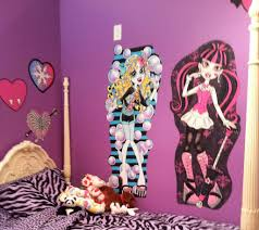 Extraordinary Interior Concept For Design Your Room With Monster High  Decorations Room Furniture Ideas