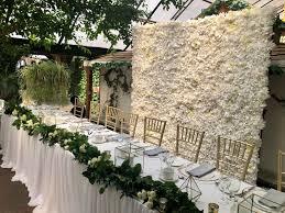 Paper Flower Archway Flower Wall Rentals