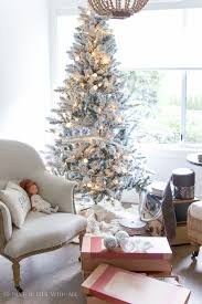 Flocked Christmas Tree Two Flocked Christmas Trees A Review So Much Better With Age