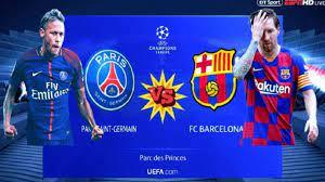 كورة لايف مشاهدة مباراة برشلونة وباريس سان جيرمان بث مباشر اليوم في دوري  أبطال أوروبا يلا شوت