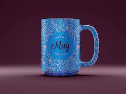 Custom coffee mugs, personalize ceramic mugs with logo Free Ceramic 3d Coffee Mug Mockup Psd Designbolts