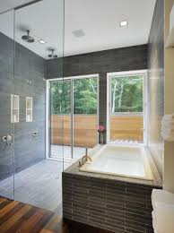 alluring decorations with white glass tile bathroom interesting decorating ideas using rectangular glass shower doors
