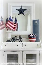 Small Picture 4th of July Decor In the Living Room House Holidays and Vignettes