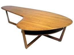 organic coffee table kidney coffee table organic modern coffee table kidney shaped teak 2 design tab organic coffee table