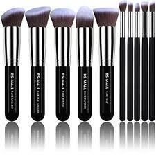as morphe set kit makeup brushes premium 10 pcs foundation powder concealer new