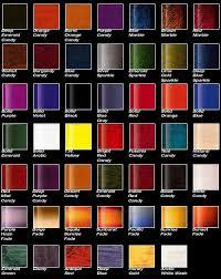 Ppg Paint Color Chart Ppg Colors Car Paint Colors Paint Color Palettes Car