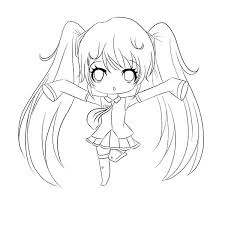 Amazing Drawing Coloring Page Anime Chibi Pages Boy Theorangechefco