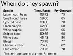 When Do Your Favorite Fish Spawn Pics