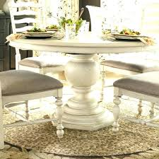 inch round pedestal table stunning ideas white dining cozy washed kitchen pertaining to whitewashed