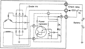similiar car alternator wiring schematic keywords 1989 mazda rx 7 alternator and charging wiring diagram