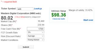 How To Calculate The Intrinsic Value Of A Stock Value