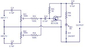 mixer circuit diagram ireleast info low cost mic mixer electronic circuits and diagram electronics wiring circuit