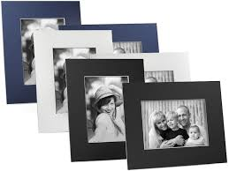 beveled cardboard easel picture frame cream for 5x7 25 pack