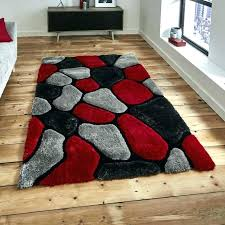 red and tan area rug black grey rugs 5x7