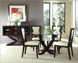 white wood dining set popular of dining room sets glass top round glass dining table 4