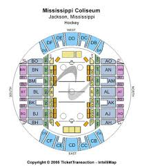 Ms Coliseum Jackson Seating Chart Mississippi Coliseum Tickets In Jackson Mississippi Seating
