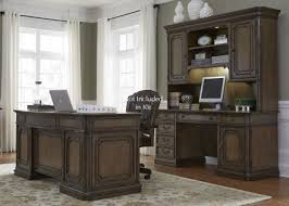 Home Office Designs For Two Cool Liberty Amelia Antique Toffee Jr Executive Home Office Set Amelia