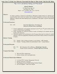 Free Teacher Resume Samples