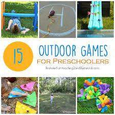 outdoor activities for preschoolers52 for