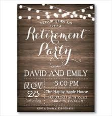Retirement Invitations Free 36 Retirement Party Invitation Templates Psd Ai Word