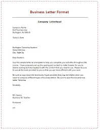 6 samples of business letter format to write a perfect letter with business to business letter format