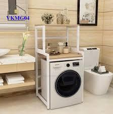 Kệ sau máy giặt 2 tầng tiết kiệm không gian VKM04 - Nội thất lắp ráp  Viendong Adv