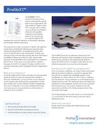 profile xt cleckley assessments llc