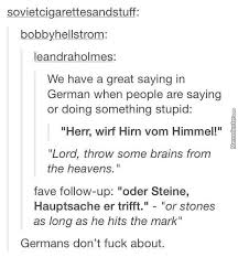german is a beautiful age